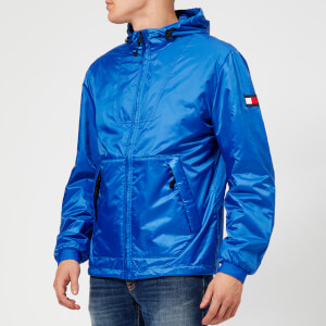 Tommy Hilfiger Men's Padded Hooded Jacket - Strong Blue