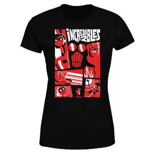 The Incredibles 2 Poster Women's T-Shirt - Black