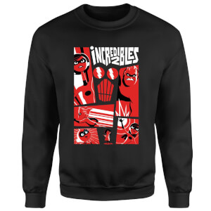 The Incredibles 2 Poster Sweatshirt - Black