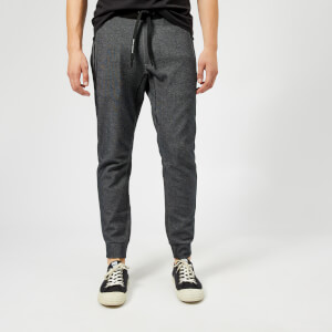 Armani Exchange Men's Cuffed Sweatpants - Black