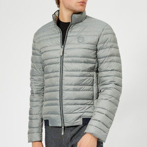 Armani Exchange Men's Down Jacket - Heather Grey/Navy