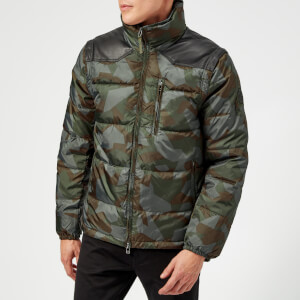 Armani Exchange Men's Camo Padded Jacket - Camo
