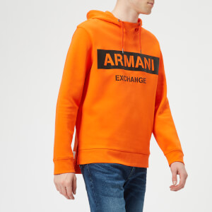 Armani Exchange Men's Overhead Hoody - Orange
