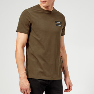 Armani Exchange Men's Military Logo T-Shirt - Wren
