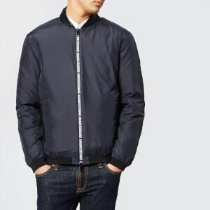 Armani Exchange Men's Tape Zip Jacket - Navy
