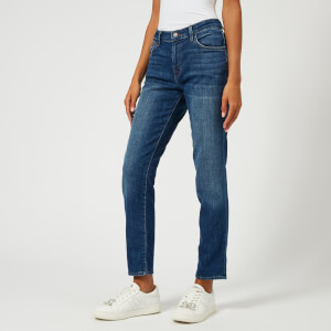 J Brand Women's Johnny Mid Rise Boy Fit Jeans - Striker