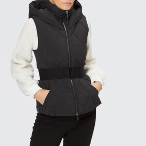 Armani Exchange Women's Down Hooded Gilet - Black
