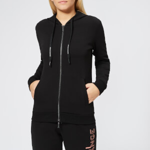 Armani Exchange Women's Hooded Sweatshirt - Black