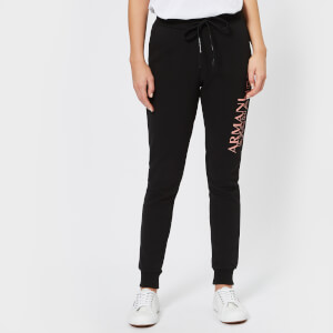 Armani Exchange Women's Logo Slim Tracksuit Bottoms - Black