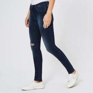 Armani Exchange Women's 5 Pocket Super Skinny Jeans - Indigo Denim