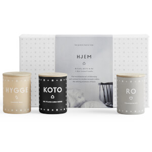 SKANDINAVISK Scented Mini Candle Gift Set - Hjem