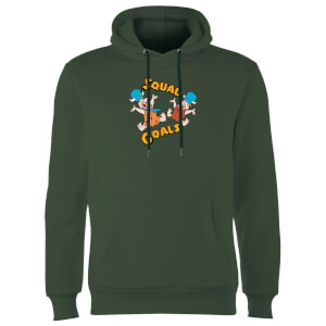 The Flintstones Squad Goals Hoodie - Forest Green