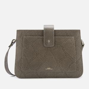 A.P.C. Women's Albane Shoulder Bag - Grey