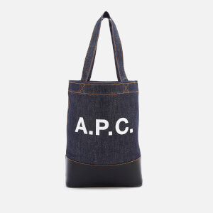 A.P.C. Women's Axelle Shopper Bag - Dark Navy