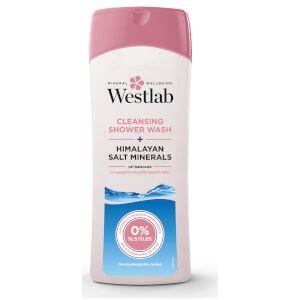 Westlab Cleansing Shower Wash with Pure Himalayan Salt Minerals -suihkusaippua 400ml