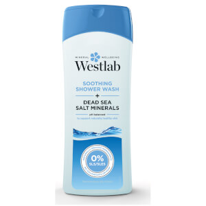 Westlab Soothing Shower Wash with Pure Dead Sea Salt Minerals 400 ml