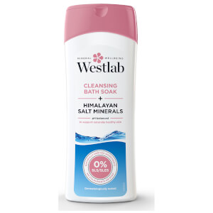 Westlab Cleansing Bath Soak with Pure Himalayan Salt Minerals 400ml