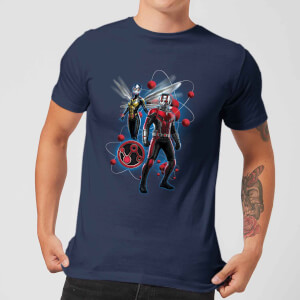 T-Shirt Ant-Man And The Wasp Particle Pose - Navy - Uomo