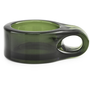 Normann Copenhagen Floe Tealight Holder - Dark Green