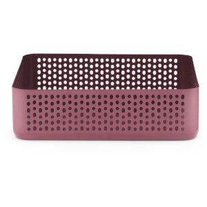 Normann Copenhagen Nic Nac Square Organizer - Dark Red