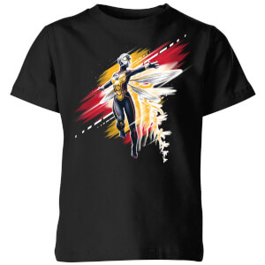Ant-Man And The Wasp Brushed Kinder T-Shirt - Schwarz