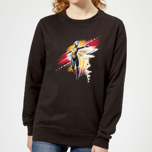 Ant-Man And The Wasp Brushed Damen Pullover - Schwarz