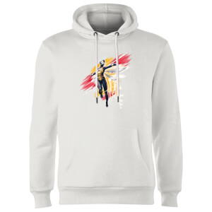 Ant-Man And The Wasp Brushed Hoodie - White