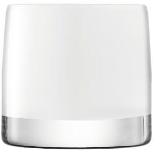 LSA Light Colour Tealight Holder - 8.5cm - White