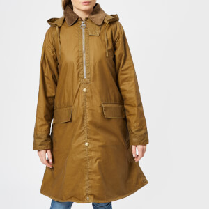 Barbour Heritage Women's Margaret Howell Wax Poncho - Sand