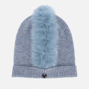 Charlotte Simone Women's Mo Mohawk Hat - Denim Blue
