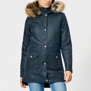 Barbour Women's Bridport Wax Jacket - Royal Navy