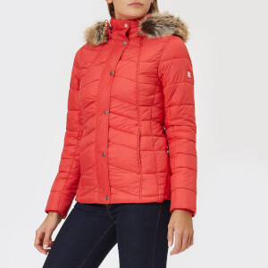 Barbour Women's Bernera Quilt Jacket - Reef Red/Navy