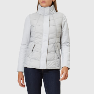 Barbour Women's Hayle Quilt Jacket - Ice White/Ice White