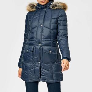 Barbour Women's Hamble Quilt Jacket - Navy