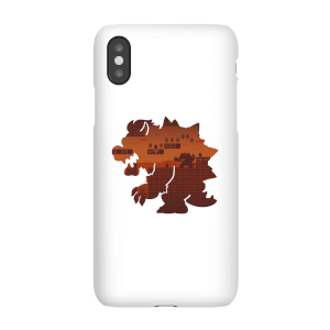 Coque Smartphone Nintendo Super Mario Bowser Silhouette - iPhone & Android