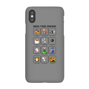 Coque Smartphone Know Your Enemies - Nintendo pour iPhone et Android