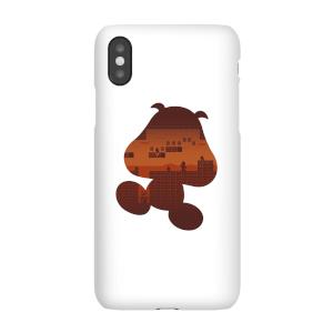 Nintendo Super Mario Goomba Silhouette Phone Case