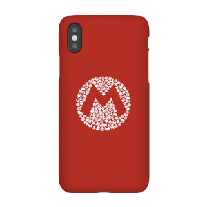 Nintendo Super Mario Mario Items Logo Phone Case
