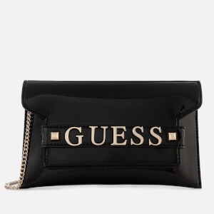 Guess Women's Summer Nights City Clutch Bag - Black