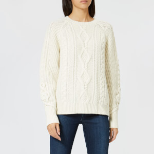 Polo Ralph Lauren Women's Chunky Cable Knit Jumper - Cream