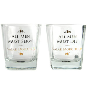 Lot de 2 Verres Game Of Thrones