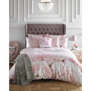Karl Lagerfeld Rana Rose Duvet Cover - Pink