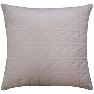 Karl Lagerfeld Quilted Cushion - Nude