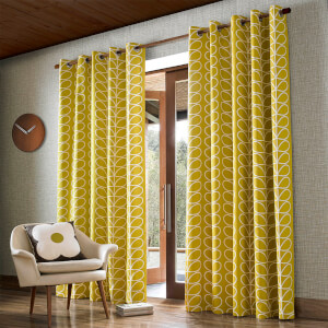 Orla Kiely Linear Stem Curtains - Dandelion