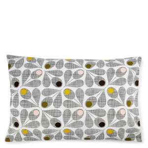 Orla Kiely Acorn Cup Pillowcase Pair - Slate