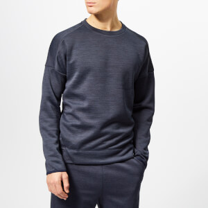 adidas Men's Z.N.E. Crew Neck Sweatshirt - Heather/Legend Ink