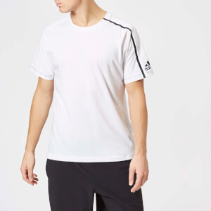 adidas Men's ZNE Short Sleeve T-Shirt - White