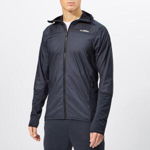 adidas Men's Terrex Skyclimb Fleece Jacket - Legend Ink