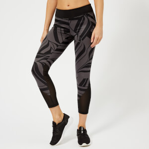 adidas Women's D2M All Over Print Tights - Black