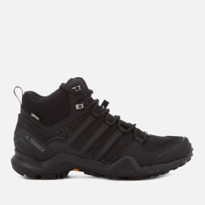 adidas Terrex Swift R2 Mid Gore-tex Hiking Shoes - Core Black
